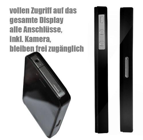 Iphone 4 / 4S Schutzhülle Cook Walter - schwarzer Rahmen
