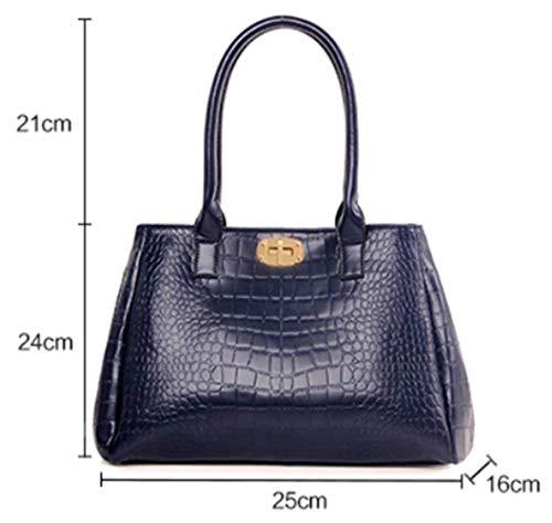 Purse Amy Hobo Shoulder Sister Women Set Bags Tote Handbags 5pcs Satchel Blue for vOOd8Iq