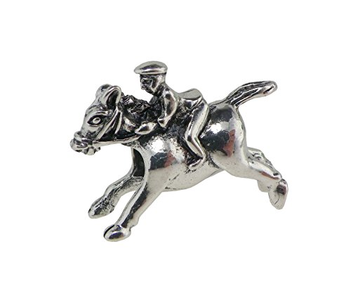 [Rosemarie Collections Women's Kentucky Derby Horse Bead Charm] (Horse Rider Costumes Sale)