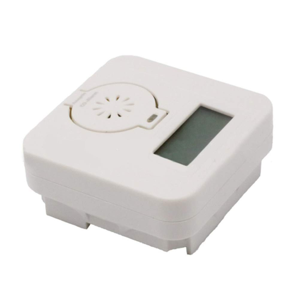 Toxic Gas Detector Safety Alarm with High Sensitivity Mini CO Alarm Smoke Alarm for Home Security Carbon Monoxide Alarm Detector