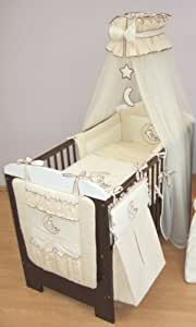 12 piezas bordado juego de cama de beb bolsa de pa ales cuna organizador para cuna cuna - Organizador de cuna ...