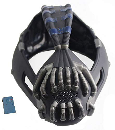 Bane Mask Voice Changer TDKR Mask Costume- Gun Metal Version Xcoser]()