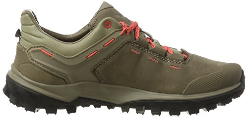 SALEWA Damen Wander Hiker Leder Halbschuh, Scarpe da Escursionismo Donna Multicolore (Other Nut/Hot Coral)