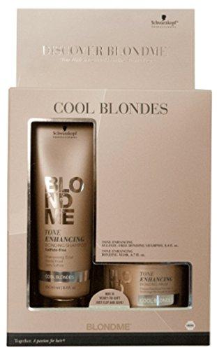 Schwarzkopf BlondMe - Bond With Me Shampoo & Mask for Cool Blondes by Schwarzkopf