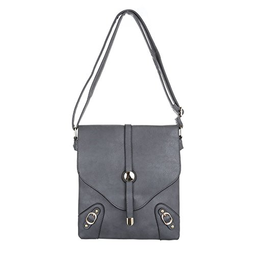 Ital-DesignSchultertasche Bei Ital-design - Bolso de hombro Mujer gris