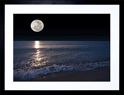 BEACH NIGHT FRAMED PICTURE F12X361 product image