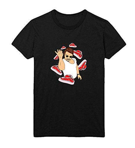 Bae Bacon Mymerchandise Hommes Homme Noir Chef Salt Coton Men's Pour 100 Meat Men Shirt T shirt Les qgwBH5