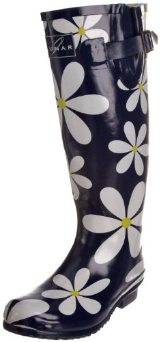 Unbekannt - Zapatos de caucho para mujer Azul