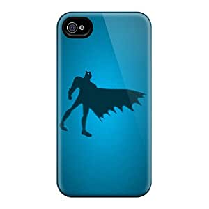 Forever Collectibles Batman Blue Hard Snap-on Iphone 4/4s Case