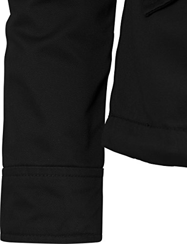 Parka Nero Basic black Classics Cotton Urban Ladies 7 Donna 7qUpqAT