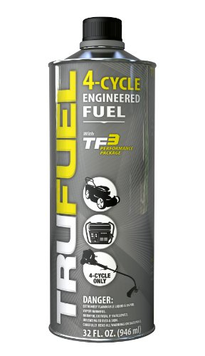 TruFuel 4-Cycle Ethanol-Free Fuel for Outdoor Power Equipment - 32 oz. (Case of 6) by TruFuel