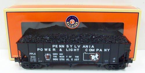 Lionel Pennsylvania Power & Light 3-bay Die-cast Coal Hopper
