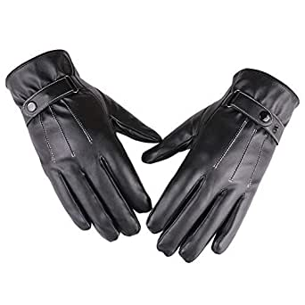 Amazon.com: Powerfulline Winter Motorcycle Men Faux