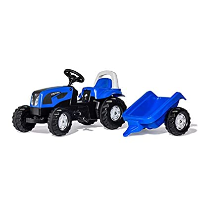 Rolly Toys Landini Kid-X Tractor, Blue: Toys & Games