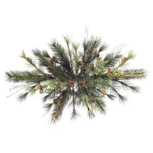 Vickerman 36'' Unlit Mixed Country Pine Swag by Vickerman