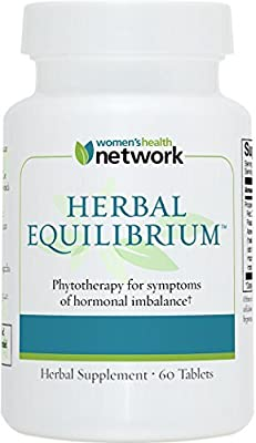 Herbal Equilibrium - Natural Menopause Relief Supplement for Hormonal Imbalance and Hot Flashes