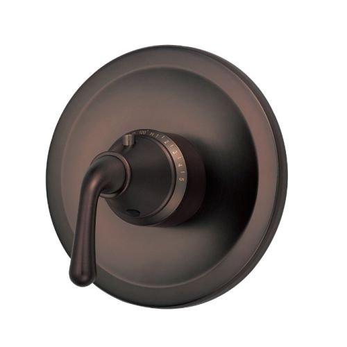 Danze D562056RBT Bannockburn Single Handle 3/4-Inch Thermostatic Shower Valve Trim Kit, Valve Not Included, Oil Rubbed Bronze