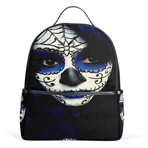 School Backpack Guy Sugar Skull Makeup Kids Backpack Elementary School Bags for -