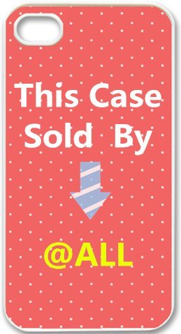 Hand Painted Animal Cartoon Series Cute Elephant Color Design Popular Coral Custom Luxury Cover Case For Iphone 6 Plus (5.5inch)(White) with Best Silicon Rubber ALL MY DREAMS