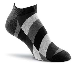 Fox River Women's Vitrail Ankle Socks, Black, Medium