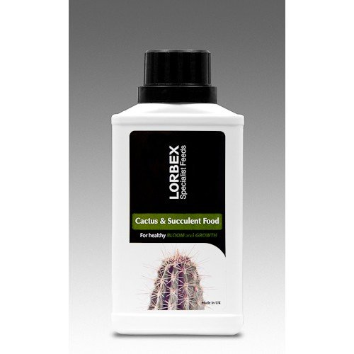Lorbex Cactus & Succulent Food/Fertiliser 250ml