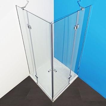 Cabina de ducha adk100 esquina ducha Mampara con esquina. y empuje 100 x 100 x 185: Amazon.es: Bricolaje y herramientas