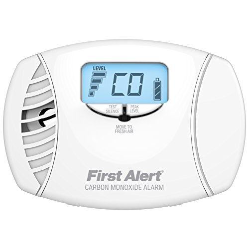 First Alert CO615 Dual Power Carbon Monoxide Plug-In Alarm with