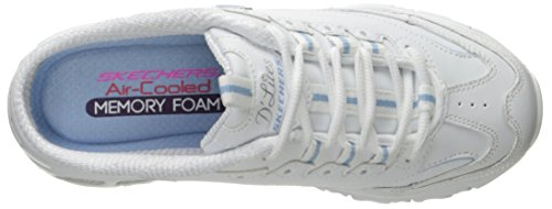 on White Mule D'lites Skechers Blue Sneaker Sport Slip Light UwAtxqBY