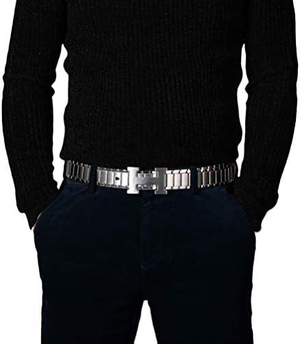 ウエストバックル ウエストベルト ベルト ステンレス サイズ調整可能 自己防衛ベルト ウエストバンド 腰飾り ビジネス ベルト 太身 細身 普段使い カジュアル 旅行 男性への贈り物 紳士 プレゼント