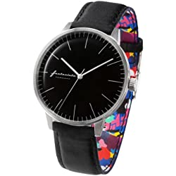 ZERONE Crossover Fantasista Utamaro Black Analogue Watch