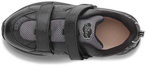 Dr. Comfort Womens Spirit X Black Diabetic Athletic Shoes EKN0gpU