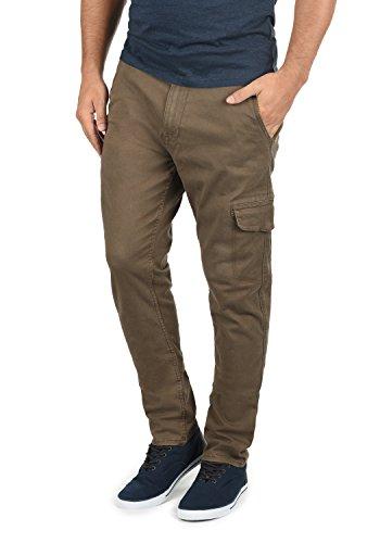 Mocca Regular Brown Cargo Fit Elasticizzato 71508 Pantaloni Gustavo Pantalone Blend Da Panno Uomo HA4wH8qv