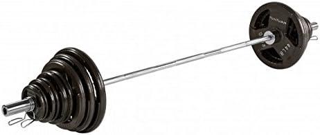 Tunturi Set de Discos Olímpicos 125 kilos + Barra 2,2m (Tri Grip): Amazon.es: Deportes y aire libre