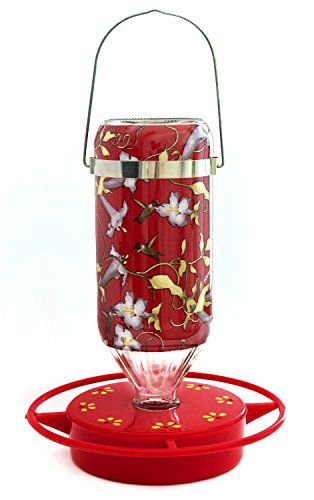 Hummers Galore® Hummingbird Feeder, Hanging Vine Design, Glass, 32 Oz Review