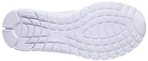 Kappa Gomera Damen Geschlossene Ballerinas Weiß (1037 white/mint)