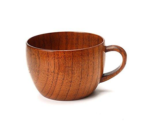 VARANDA Espresso coffee Wooden cup Hand Craft Jujube Wood