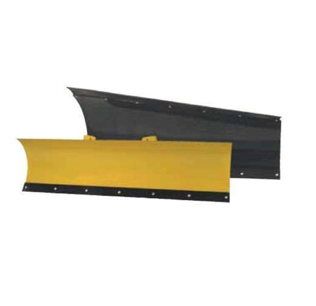 Black Standard Eagle Power Blade with Rubber Flap and Plow Markers American Manufacturing 72in