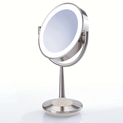 Cordless Makeup Mirror by Brookstone