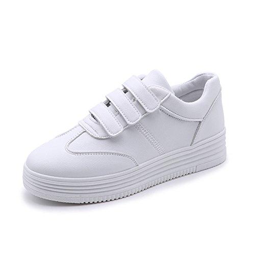 Cybling Instappers Schoenen Dames Casual Mode Sneakers Outdoor Wandelschoenen Schoenen Wit