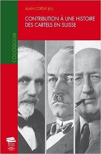 Livre gratuits Contribution a une Histoire des Cartels pdf ebook