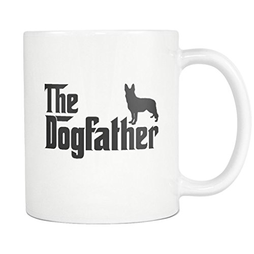 Used, German Shepherd DogFather Coffee Mug Funny Gift Tea for sale  Delivered anywhere in USA