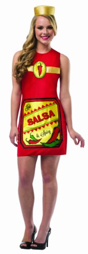 [Rasta Imposta Women's Hot and Spicy Salsa, Multi, One Size] (Best Nerd Girl Halloween Costume)