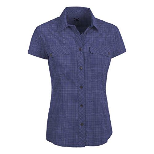 SALEWA Bluse Kitaa 2.0 Dry W Short Sleeve Shirt - Camisa / Camiseta para mujer multicolor (m talut loganberry)