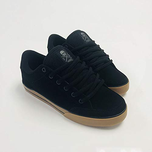(C1RCA Mens Al50 Black Gum Shoes Size 11)