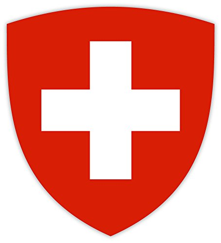 Switzerland Swiss coat of arms sticker decal 4