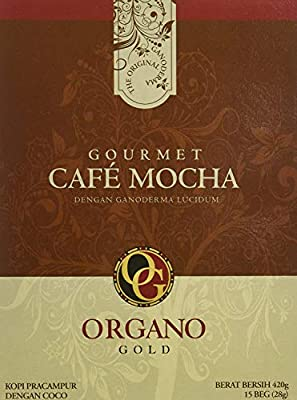 Organo Gold Gourmet Cafe Mocha,14.9 oz NET,15 sachets from Organo Gold
