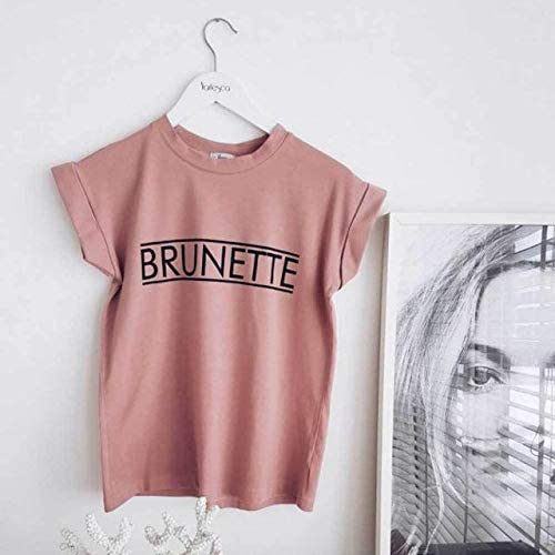 Brunettes Do It Better Black Juniors Soft T-Shirt