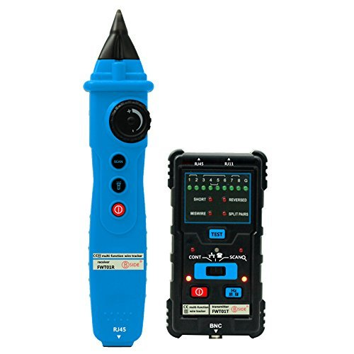 Bside FWT01 Network LAN Ethernet Wire Tracker Finder Meter Telephone Line Cable Tester