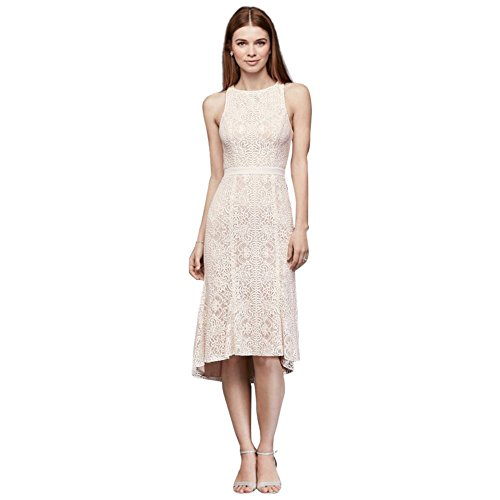Short-Knee-Length-Lace-Sheath-Wedding-Dress-with-Flounce-Hem-Style-SDWG0609