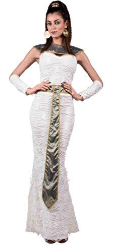 [Queen Of The Nile Costume Womens Egyptian Goddess Cleopatra Fancy Dress Roman] (Roman Goddess Xlarge Costumes)